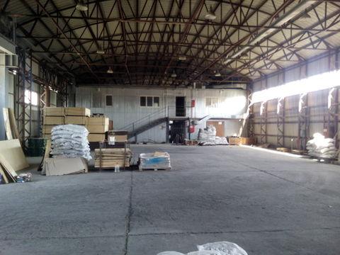 Холодный склад 560 кв.м. с кран-балкой в Цемдолине. - Фото 1
