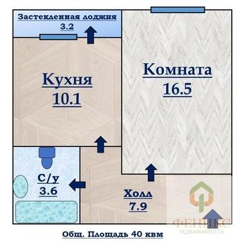 """Отличная 1-к квартира в ЖК """"О'Юность"""" - Фото 2"""