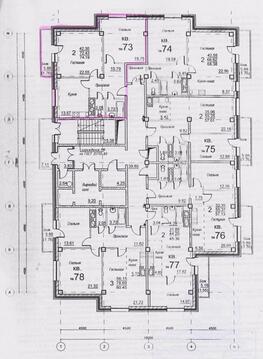 """ЖК """"Озеро Парк"""" д.№ 3 2-комн. квартира 74,19 кв.м. 2800 т.р. - Фото 4"""