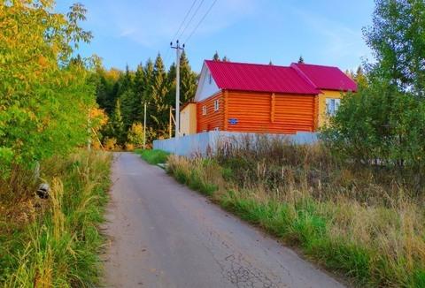 Великолепный лесной участок 50 соток в деревне Назимиха улица Осенняя - Фото 3