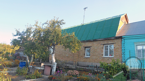 Продается часть дома с земельным участком, ул. Курская - Фото 1