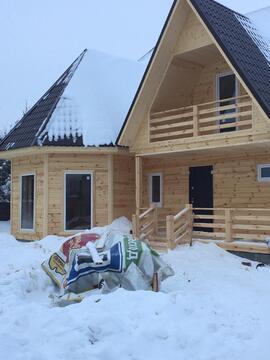 Дом из бруса 200 м2 с Газом, 25 соток, Прописка - Фото 2