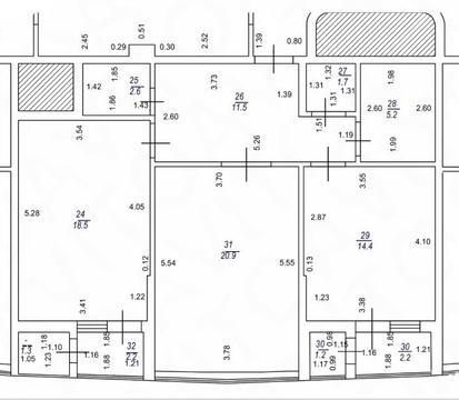 2 квартира в ЖК Адмирал - Фото 4