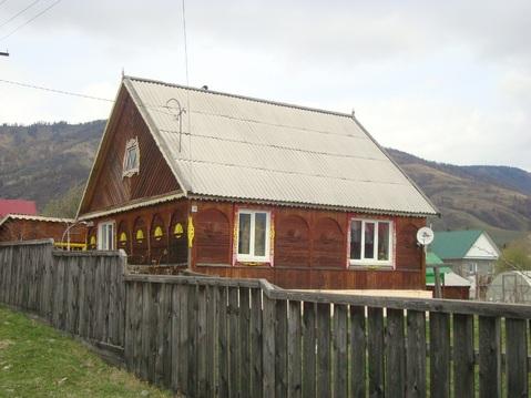 Продам деревянный одноэтажный дом из бруса в с. Усть-Кокса - Фото 2