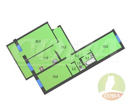 Продажа квартиры, Тюмень, Малая Боровская - Фото 1
