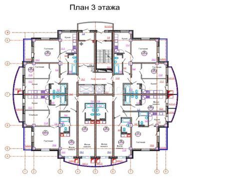 "ЖК "" Ярослав"" д. №2 Долевое(от юр.лица) 58,5 кв.м. - Фото 2"