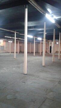 Сдаётся отапливаемое производственно-складское помещение 2256 м2 - Фото 1