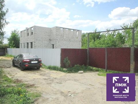 Продам участок ИЖС с недостроенным домом в Заводском районе - Фото 1