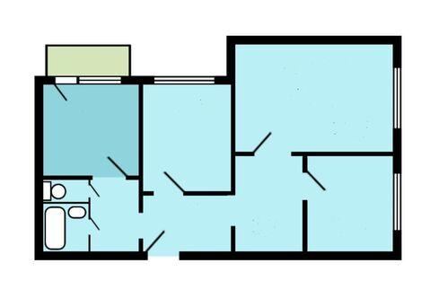 Продается уютная 3-х комнатная квартира в ЮВАО общ. площадью 77 кв.м. - Фото 4