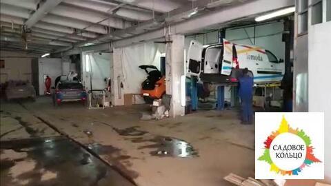 Часть осз, под склад/произв-во, отаплив, выс. потолка: 4-7 м, огорож. - Фото 1