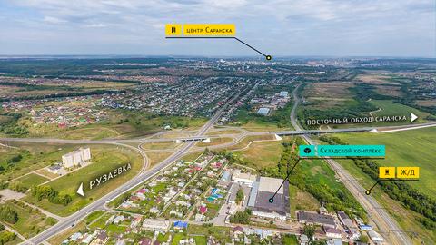 Складской комплекс общей площадью 8000 кв.м. на зем. участке 2,2 Га - Фото 5