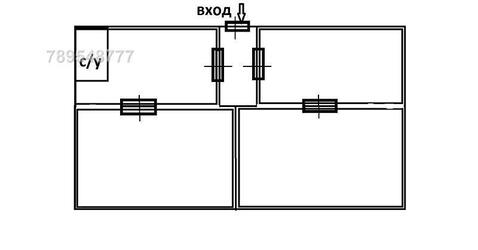 Сдаётся холодный склад 400 кв.м. Высота потолка 6-8 м. Пандус, еврофур - Фото 1