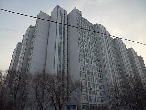 Продам 1-к квартиру, Москва г, улица Борисовские Пруды 42 - Фото 1