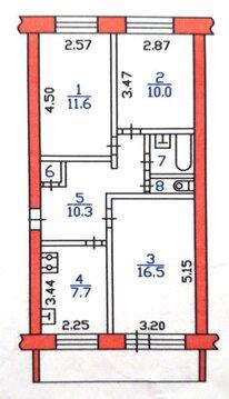 Продажа квартиры, Воскресенское, Вологодский район, Советская - Фото 1