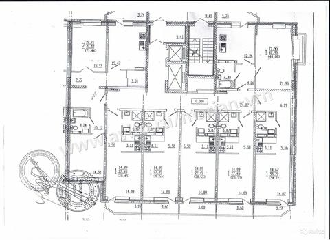 1-к квартира, 28.1 м, 1/16 эт. - Фото 2