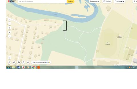 Участок в Химках на берегу Клязьмы
