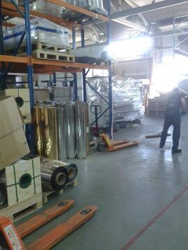 Аренда склада производство 1100 кв.м с авто и ж/д пандусом - Фото 1