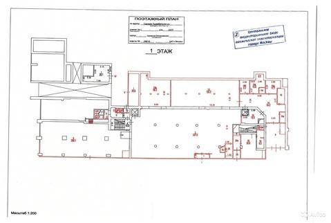 Псн на Садовом кольце 1 линия 1456 кв.м первый этаж - Фото 5