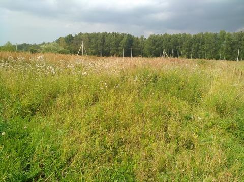 Продается земельный участок 10 соток. Чеховский район, д.Булычево - Фото 3