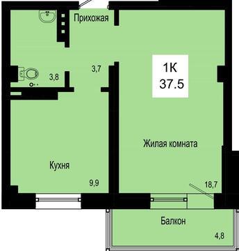 Продажа квартиры, Красноярск, Улица Петра Подзолкова - Фото 2