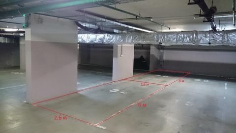 2 машиноместа в подземном паркинге на Чугунова, Раменское - Фото 1