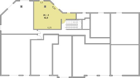 1-к квартира, 43 м2, 3/5 эт, Крым, Ялта, ул. Ореховая, 39 - Фото 4