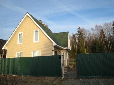 Продается 2х этажная дача 150 кв.м. на участке 10 соток - Фото 1