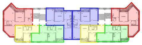 Продажа трехкомнатная квартира 100.2м2 в ЖК Центрум-2 сапожникова 7 - Фото 2