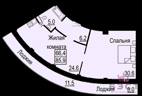 Квартира, ул. Крестинского, д.35 - Фото 1