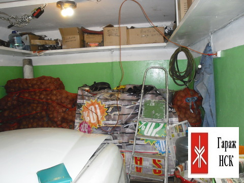 Продам капитальный гараж. Верхняя зона Академгородка, ГСК Радуга № 297 - Фото 3