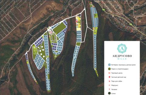 Продается новый коттедж в закрытом коттеджном поселке Андрусово-hills! - Фото 2