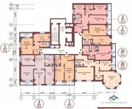 Продам двухкомнатную квартиру Елькина ,88а, 58кв.м.11 эт, цена 2900т.р - Фото 2