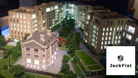 """ЖК """"Полянка,44""""-элитный комплекс квартир, 128 кв.м, 3 спальни, 3 этаж - Фото 2"""