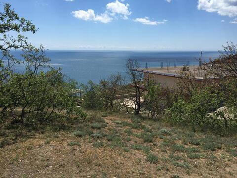 Продам земельный участок в Алуште, Дельфин, до моря 300 м. - Фото 4