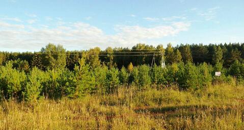 Участок пос. Элита. ИЖС Асфальт, эл-во, Сосны лес - Фото 1