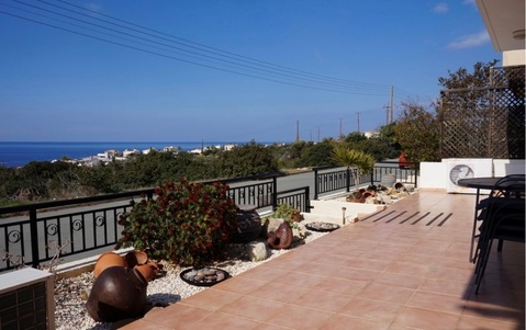 Трехкомнатный Апартамент с видом на море в живописном районе Пафоса - Фото 3