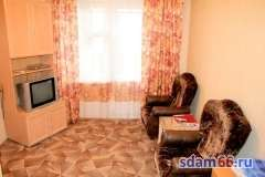 Квартира ул. Ботаническая 17, Аренда квартир в Екатеринбурге, ID объекта - 321288705 - Фото 1