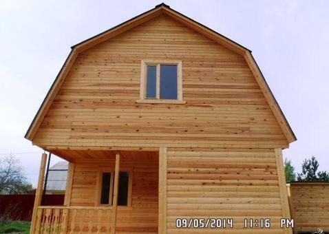 Новый дом с мансардой у леса в д.Тамышёво, Клепиковского района. - Фото 1