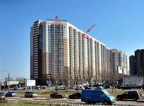Видовая 2-комн.кв. 63.5м, 25/25-эт. кирп. дома, панорама на город - Фото 2