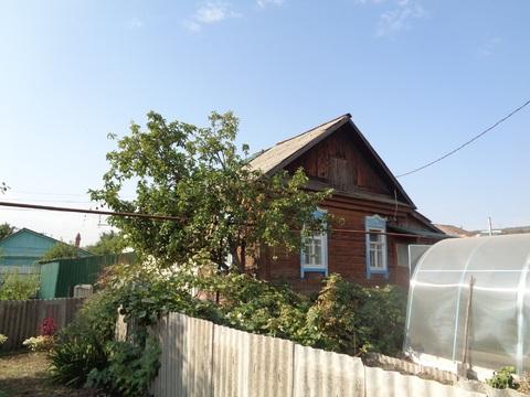 1/2 деревянного дома с косметическим ремонтом на улице 1лучевой проезд - Фото 1