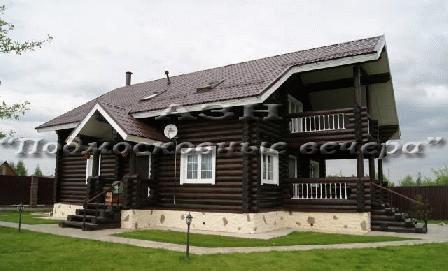 Минское ш. 12 км от МКАД, Лесной Городок, Коттедж 200 кв. м - Фото 1
