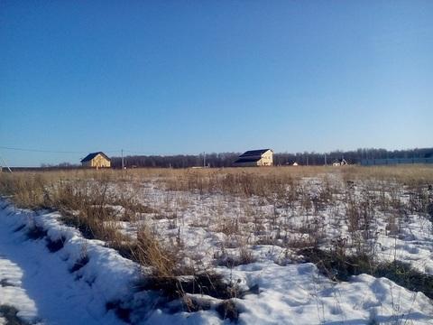 Шарапово д, Чеховский район 68 км от МКАД, участок 25 соток. - Фото 2