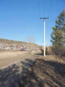 Продаётся участок рядом с Ангарой (100 метров до реки) - Фото 2