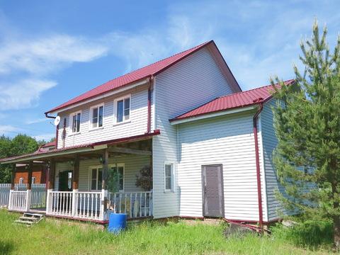 Большой дом 250 кв.м, 12 соток у леса, р-н Дорохово, 75 км МКАД. - Фото 2