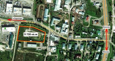 Участок земли промназначения 9 738 кв.м на окраине Иванова - Фото 3
