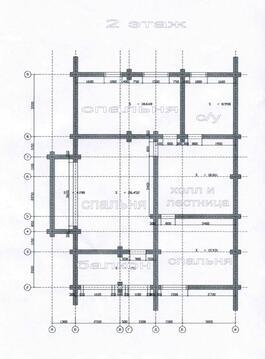 2 этажа, 235м2,100м до р.Ситмеж, д.Притыкино - Фото 2