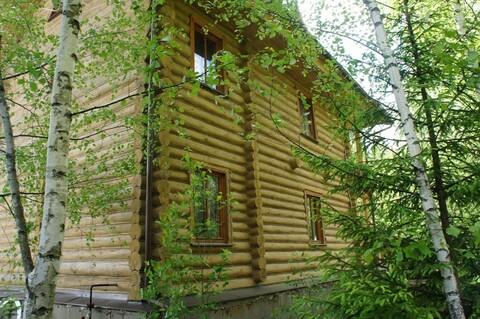 Дом терем их тесаного бревна в Новой Москве. - Фото 5