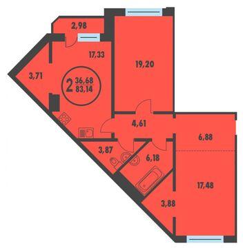 Продажа квартиры, Дударева, Тюменский район, Ул Созидателей - Фото 1