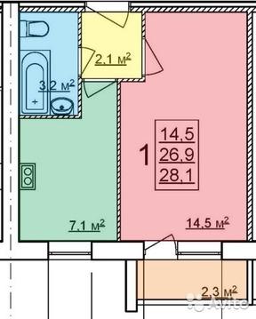 1-комнатная квартира в п.Щедрино - Фото 5