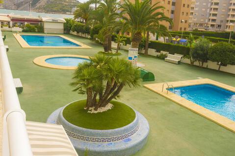 Сдаются апартаменты с видом на море в Кальпе, Испания. - Фото 1